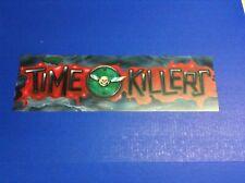 Time Killers Video Arcade Game Styrene