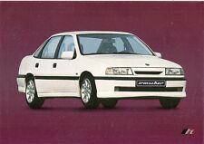 Vauxhall Cavalier Opel Vectra Mk3 Saloon Irmscher 1988-89 UK Market Brochure