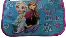 NWT FROZEN DISNEY Messenger Bag BLUE NYLON ELSA AND ANNA