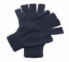 Regatta Professional Workwear Fingerless Mitts Gloves Knitted Half Fingers Glove