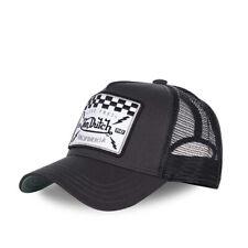 VON DUTCH TRUCKER CAP - SQUARE BLACK **BRAND NEW & IN STOCK**