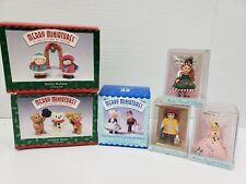 Lot of 6 Hallmark Keepsake Collections Merry Miniatures & Madame Alexander