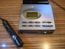 Sony  Minidisc  MD MZ - R 91 + Fernbedienung  RM-MZ4R + AA Batteriefach