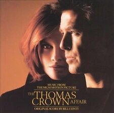 The Thomas Crown Affair [1999] [Original Score] * by Bill Conti (CD, Sep-1999, A