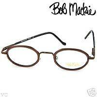 """Bob Mackie Majestic Brown Frame 5.25"""" Sz.46 22 140mm ."""