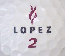 NANCY LOPEZ SIGNATURE LOGO GOLF BALL (DM CIR 2000) #2