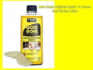 Goo Gone 8oz Cleaner +Sticker Lifter Remove Label FBA Price Tag Tar Tape Gum USA