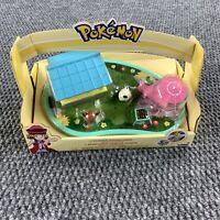 Pokemon Garden Adventures Eevee Pancham Cute Playhouse New 2017 TOMY Brand