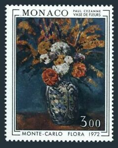 Monaco 829,MNH.Michel 1041. Flowers in vase by Paul Cezanne,1972.