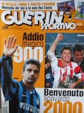 Guerin Sportivo n°51-52 1999 - Maxi Poster Montella e Rui Costa  [GS39]