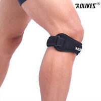Adjustable Men's Knee Brace Pain Relief Wrap Support Patella Tendon Sport Strap