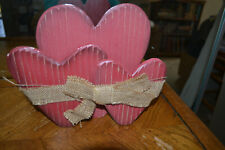 Hobby Lobby distressed wood standing Valentine's Day decoration.