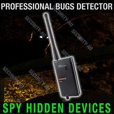 Spy Phone Detector Cameras Wireless GSM Bugs GPS Finder Locator Monitor Anti