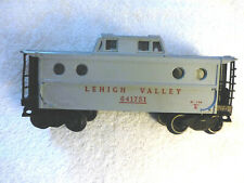 LIONEL 6417-51 LEHIGH VALLEY GRAY PORTHOLE WINDOW CABOOSE, VG Condition