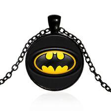DC Comics Batman Symbol Logo Movie Film Necklace Pendent Jewellery Gift Bag