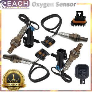 4pcs 1 & 2 Oxygen O2 Sensor For Chevrolet C/K1500 2500 Suburban 5.7L 7.4L 96-99