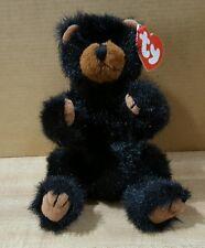 "Ty Attic Treasures~ Ivan 8"" Black Bear Retired"