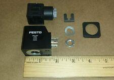 Festo MSG-24 Solenoid Coil 24VDC 11.5W IP00/65