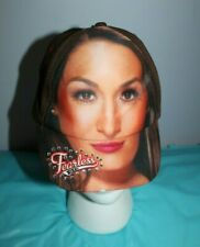 WWE Fearless Nikki Bella Embellished Likeness Hat W/ Attached Hair Braid Cosplay
