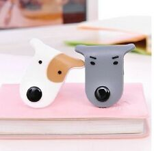 2 X Doggie Cable Winder Wrapper Headphone Earphone