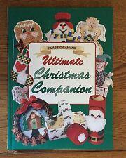 Plastic Canvas Ultimate Christmas Companion Hardback Pattern Book - NICE