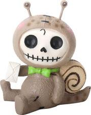 NEW Furrybones Furry Bones Den Den Garden Snail Skull Skeleton Figurine 9128