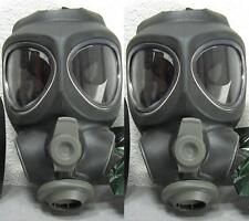 2x Scott M95 Respirator Gas Mask Swat Military Police Prepper New (NO -Filter)