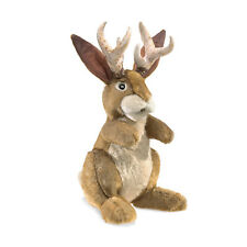 Folkmanis High Quality Mystical Creature Animal Puppets (Jackalope)