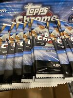 20 - 2020 Topps CHROME Baseball Brand New Sealed 4 Card Packs! Ships Today 📈