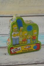 The Simpsons Trivia Game In Collectors Tin with Cast Poster 2000 Bart Homer