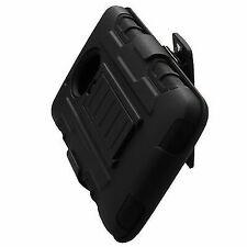Advanced Armor Hybrid Stand TPU Holster Cover for Motorola Moto G5 Black