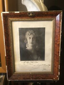 Maria Josè Del Belgio Didica A Vittorio Corcos Autografo Originale