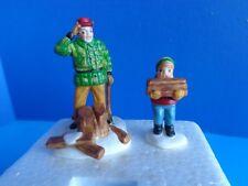 "Dept 56 ""Wood Cutter & Son"" Heritage Village- Retired"