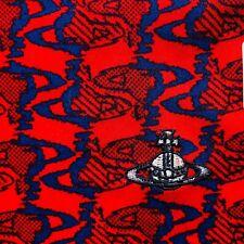 Genuine Vivienne Westwood Handkerchief/Scarf/Foulard - Columns of Orbs - 50cm sq