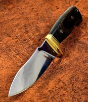 Gil Hibben Chugach Premium New EDC Hunter Knife w/Sheath Full Tang GH5084