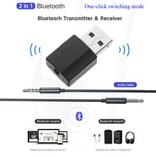 Audio Receiver Digital Devices USB Transmitter 2 in 1 Bluetooth 5.0 Adapter