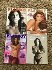 Lot of 3 Playboy Magazines - Cindy Crawford Covers - All her Covers VG + Bonus