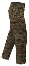 Fatigue BDU Pants  Woodland Digital Camouflage Military Cargo Rothco 8675