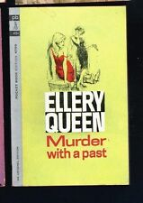 Ellery Queen Murder with a Past Pocket Books 4700 1st edition 1st pb Mint