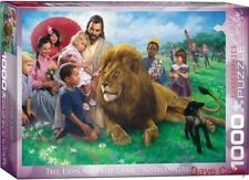 Eurographics 60000345 Puzzle 1000 Piece jigsaw The Lion & the Lamb Nathan Greene