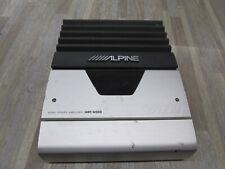Alpine V12 Mono Mrd-M300 Power Amplifier Tested Good