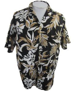 Royal Creations Men Hawaiian camp shirt XXL pit to pit 26 tropical vintage aloha