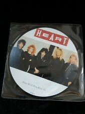 "Heart  - Who will you run to -  7"" picture disc"