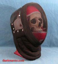 "Hema Red Dragon Fencing Mask 24-26"" - Size Medium Three Weapons Mask"