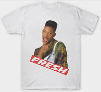 FRESH PRINCE OF BEL AIR T SHIRT TOP WILL SMITH 90's