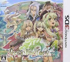 MARVELOUS RUNE FACTORY 4 3DS NINTENDO JAPANESE  JAPANZON
