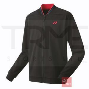 Yonex 50075J Junior Warm Up Jacket - Black