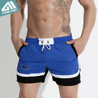 Desmiit Fast Dry Men's Board Shorts Sea Beach Surf Diving Swimming Short Trunks