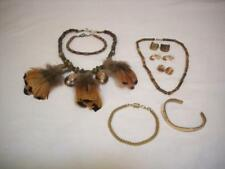 Necklaces, Bracelets and Earrings Assorted Ethnic Jewelry Lot -
