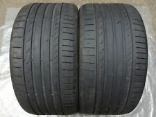 2 Summer Tyre Continental Contisport Contact 5 Ssr (Rsc ) SUV 315/35 R20 110W